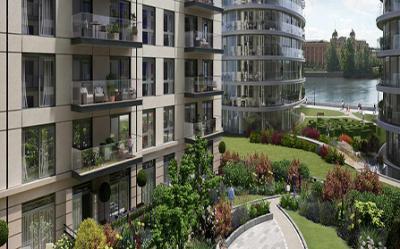 Апартаменты в Fulham Reach