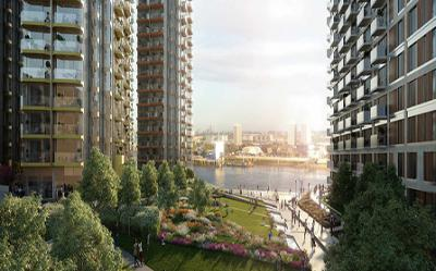 Апартаменты в комплексе Royal Arsenal Riverside